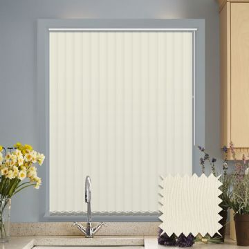 Multiple Blackout Vertical Blind Deal | Lucca white or cream